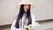 Nàng thơ xứ Huế Ngọc Trân thướt tha áo dài trắng tại Hàn Quốc