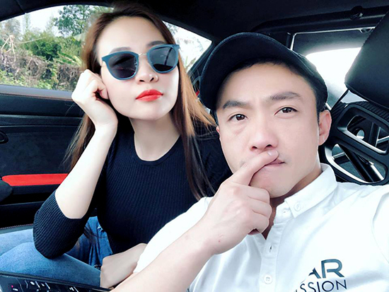 Đàm Thu Trang- Cường Đôla bình yên mặc kệ thị phi showbiz