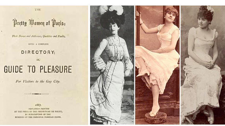 Hé lộ cẩm nang 'gái bán hoa đẹp nhất Paris' thế kỷ 19