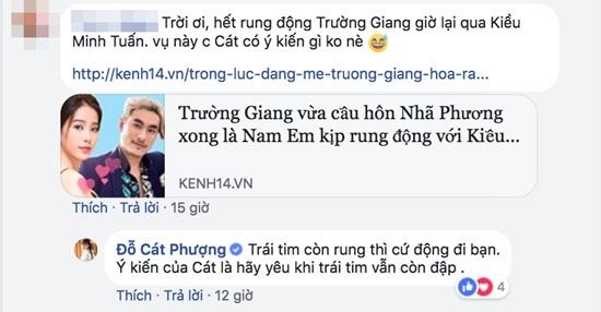 Cát Phượng bình luận gì chuyện Nam Em rung động với Kiều Minh Tuấn?