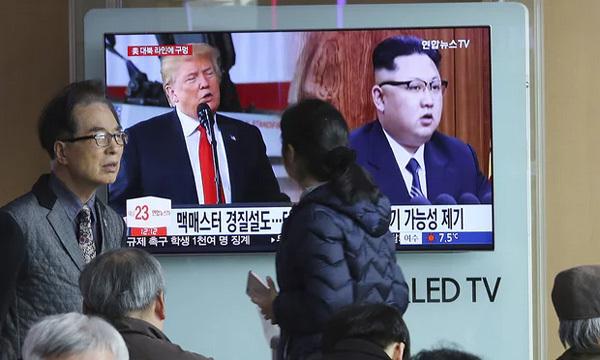 Triều Tiên,Mỹ,Kim Jong Un,Donald Trump,thượng đỉnh Mỹ - Triều