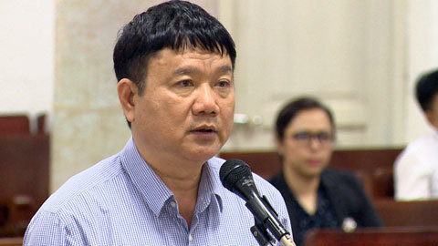 Thẩm vấn người giúp ông Đinh La Thăng hợp thức hóa tài liệu
