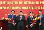 Trao quyết định bổ nhiệm 2 Thứ trưởng Bộ KH&ĐT