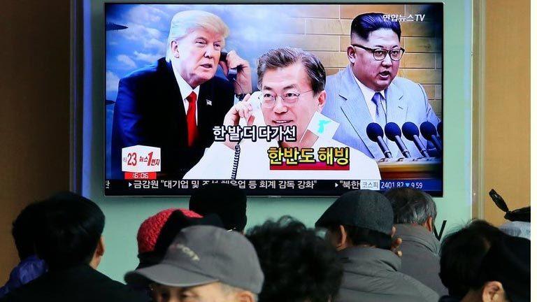 Hàn Quốc gợi ý hội đàm ba bên với Mỹ, Triều Tiên