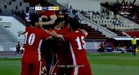 Jordan 1-0 Kuwait