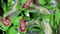 Hai xe chân gà nhập lậu có xuất xứ Trung Quốc bốc mùi hôi thối