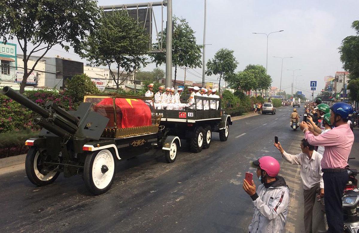 Lễ truy điệu và an táng nguyên Thủ tướng Phan Văn Khải