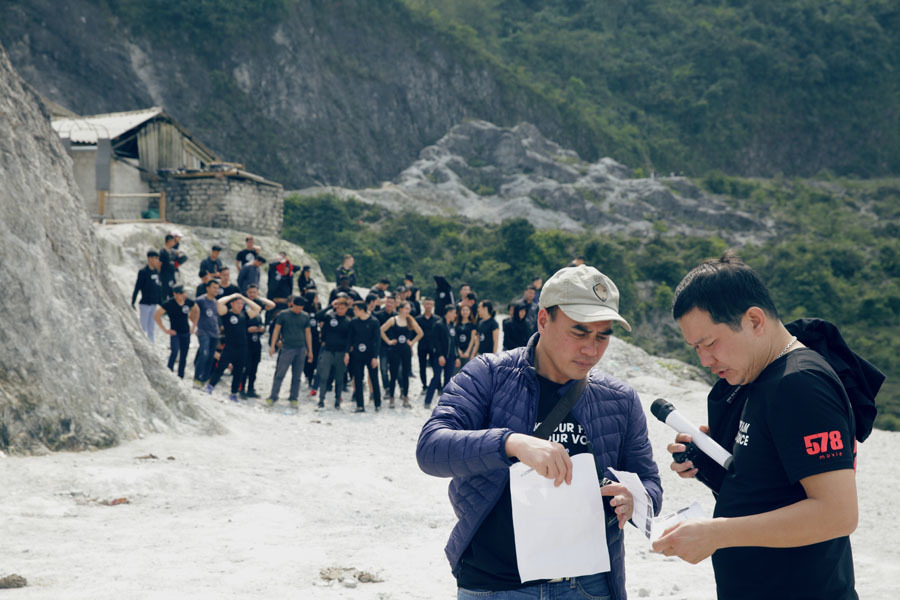 100 diễn viên lên núi casting phim điện ảnh 60 tỷ về nạn ấu dâm