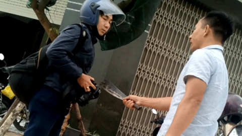 Công an đã xác định được đối tượng dọa giết phóng viên