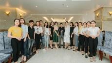 Thí sinh dự tuyển người mẫu tuần lễ 'Văn hóa-Du lịch Đồng Hới'