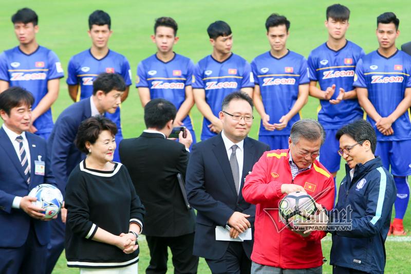 Tổng thống Hàn Quốc: Không có bão tuyết, U23 Việt Nam đã vô địch U23 châu Á