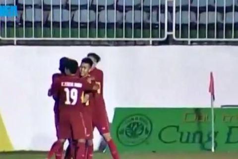 U19 Việt Nam 3-0 U19 Chonburi