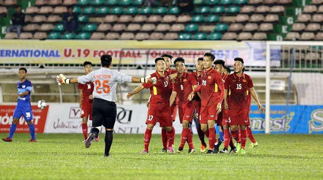 U19 Việt Nam vùi dập đội bóng Thái Lan ở giải U19 quốc tế