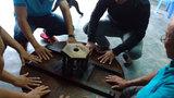 Kỳ lạ chiếc bàn tự xoay chưa thể lý giải tại Bình Định