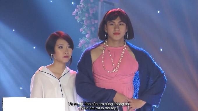 Chấp nhận cho mẹ lấy chồng mới, cô gái bị Trịnh Tú Trung mắng té tát