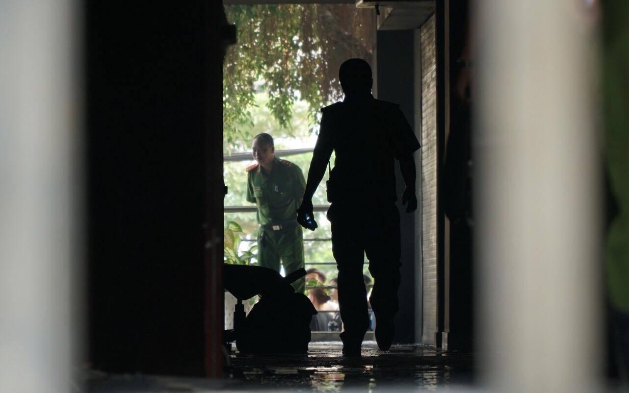 cháy chung cư,chung cư Carina,Chung cư cao cấp,cháy lớn ở TP HCM