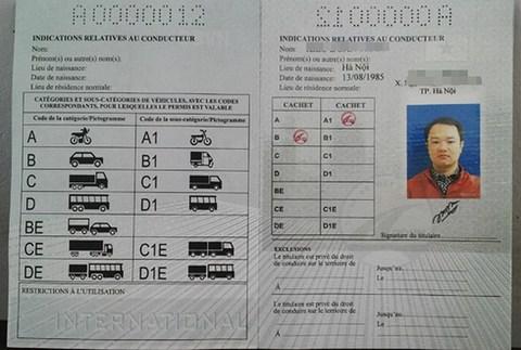 Có thể sử dụng bằng lái xe của Đức tại Việt Nam