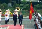 Lễ đón chính thức Tổng thống Hàn Quốc và phu nhân