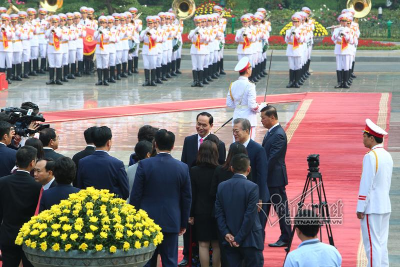 Hàn Quốc,Tổng thống Hàn Quốc,Việt-Hàn,Chủ tịch nước,Chủ tịch nước Trần Đại Quang