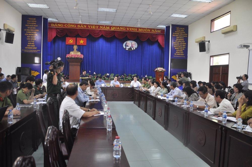 Tướng Phan Anh Minh: Không loại trừ khả năng cài đặt gây nổ chung cư Carina