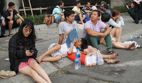 cháy chung cư cao cấp Sài Gòn