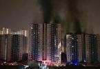 Cháy chung cư quận 8 Carina Plaza TP.HCM