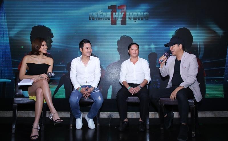 Cựu danh thủ Hồng Sơn và Huỳnh Đức đóng phim về đề tài bóng đá