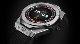 Smartwatch Hublot đầu tiên ra mắt, giá hàng trăm triệu đồng