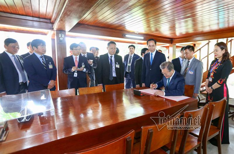 Hàn Quốc,Việt-Hàn,Tổng thống Hàn Quốc,Chủ tịch nước Trần Đại Quang,Trần Đại Quang