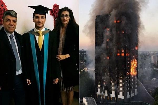 Người mẹ thả con từ tầng 5 chung cư rực lửa và điều kỳ diệu