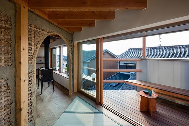 Nhà đẹp,nội thất,thiết kế nhà,ngôi nhà 2 tầng