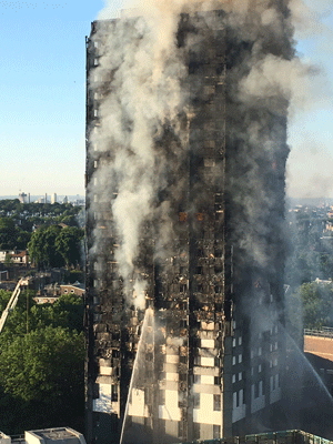 Những vụ hỏa hoạn cao ốc khủng khiếp nhất lịch sử