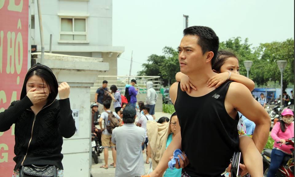 cháy lớn,cháy chung cư,chung cư Carina,Chung cư cao cấp,cháy lớn ở TP HCM,Đinh Duy Hòa