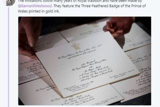 Thiệp mời cưới của Hoàng tử Anh có gì đặc biệt?