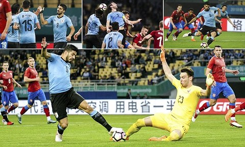 Uruguay 2-0 CH Séc