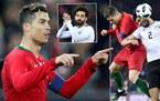 Ronaldo che mờ Salah, Bồ Đào Nha ngược dòng khó tin trước Ai Cập