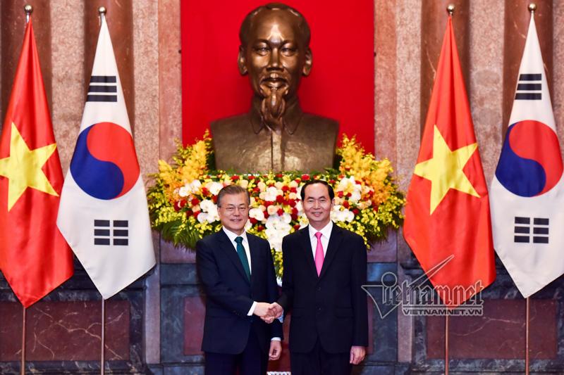 Tổng thống Hàn Quốc: Việt Nam là đối tác hợp tác phát triển lớn nhất