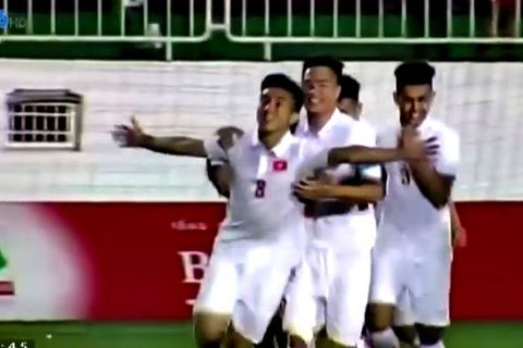 U19 Việt Nam 1-0 U19 Seoul: Trần Công Minh mở tỷ số