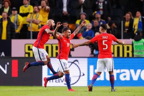 Video Thụy Điển 1-2 Chile
