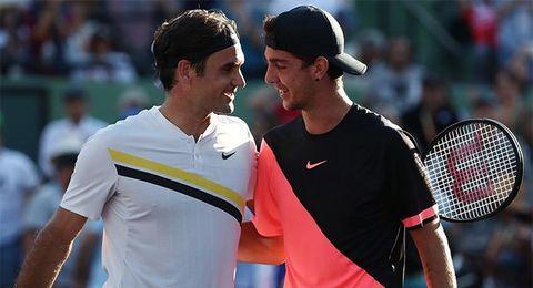 Federer 1-2 Kokkinakis