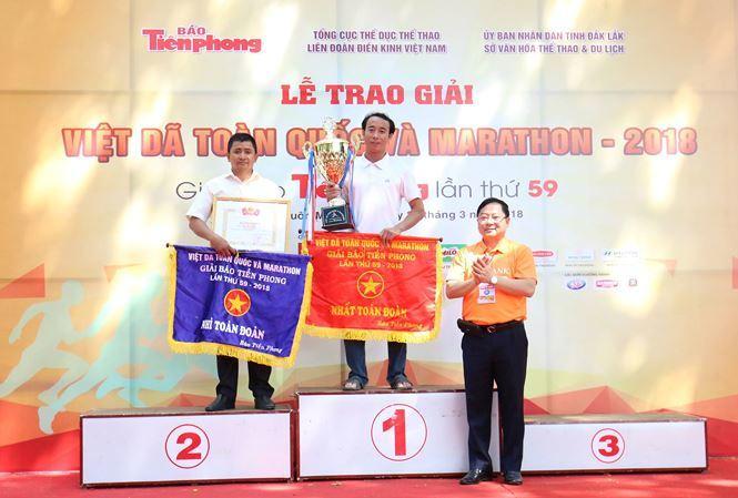 điền kinh Việt Nam,giải chạy việt dã toàn quốc
