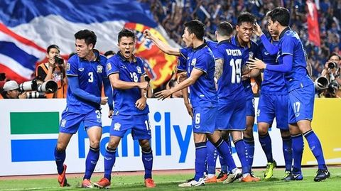 Thái Lan suýt gây địa chấn trước đội bóng xếp hạng 29 thế giới