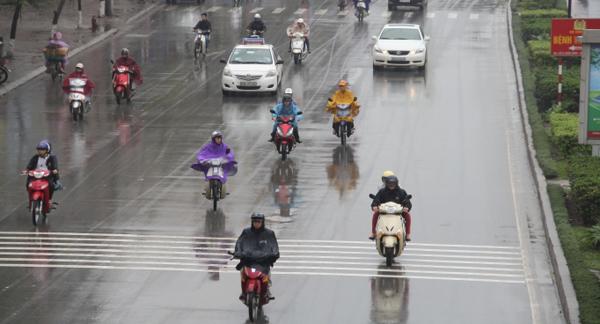Dự báo thời tiết 26/3: Hà Nội chuyển mưa