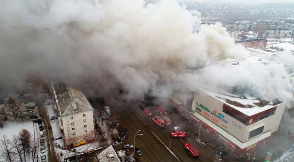 Hiện trường vụ cháy khu mua sắm làm 37 người chết
