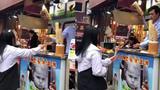 Chết cười với cách trả đũa chàng bán kem của cô gái trẻ