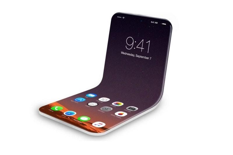 iPhone màn hình gập có thể ra mắt thời gian tới