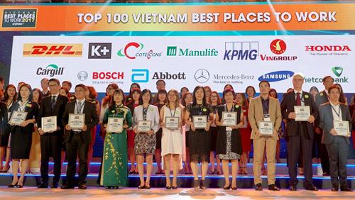 Manulife Việt Nam- Nơi làm việc tốt nhất ngành bảo hiểm 2017