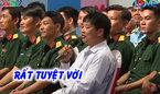 Ông chủ vườn cam Cao Phong đến trường quay tìm bạn gái cho con