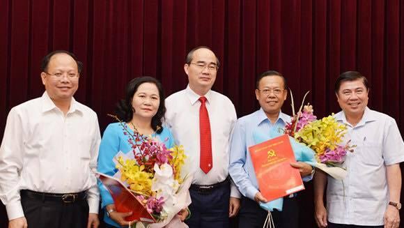 Thành ủy TP.HCM bổ nhiệm nhân sự chủ chốt