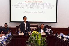 Hoàn thành quy hoạch lãnh đạo Bộ Tư pháp 2021-2026